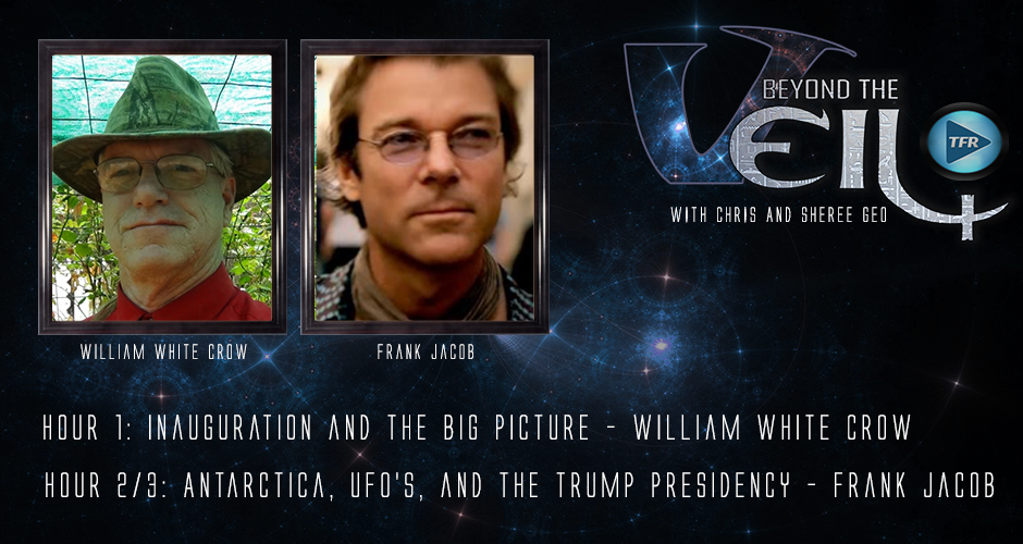 #576 Antarctica, UFO's, and the Trump Presidency with Frank Jacob